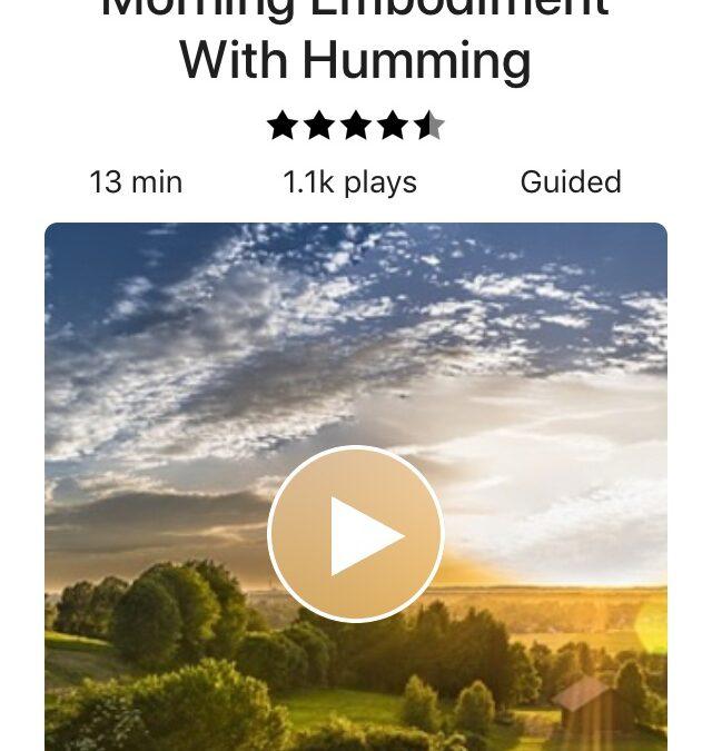 Embodied Humming
