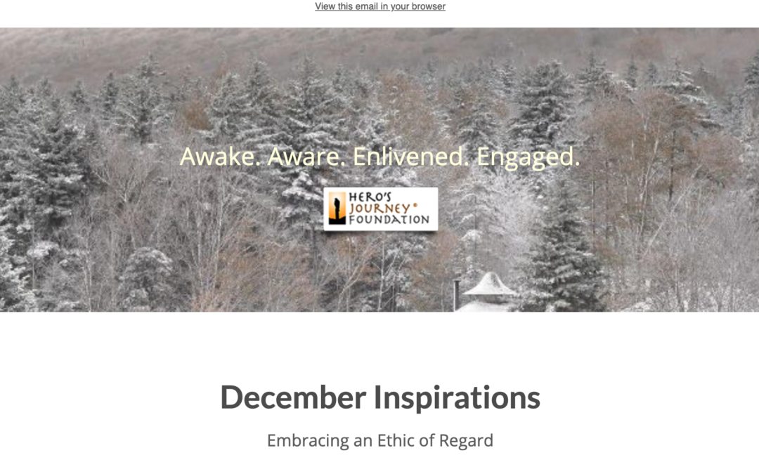 December Inspirations